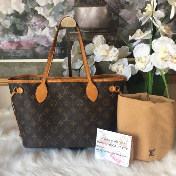 4e3bb3378 Louis Vuitton Handbags - guarantee authentic neverfull PM old style